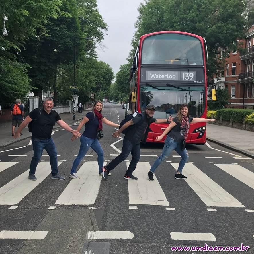 Abbey Road - Como chegar na rua dos Beatles - Blog Um Dia Em