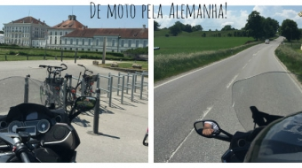 Munique -  Locação da moto e Castelo de Nymphenburg